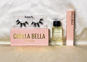 BUTTERFLY MAGNETIC LASH AND LINER KIT (3 PIECE)