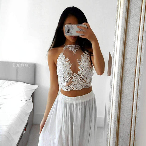 Pure LILIPEARL handmade lace bralet - LiLiPearl - LiLiPearlUK - Handmade luxury dragon satin chinese unique womens clothing lace mesh crop top bralet lili pearl