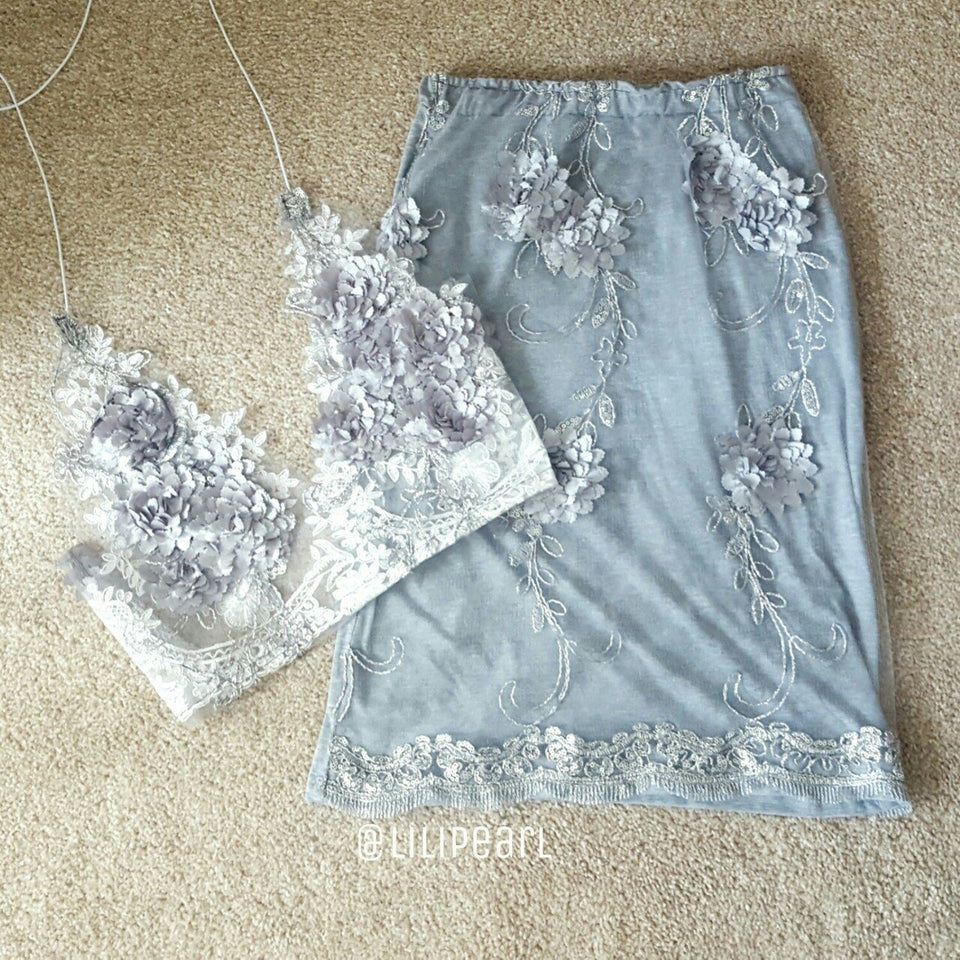 Helena LILIPEARL handmade lace bralet  - LiLiPearl - LiLiPearlUK - Handmade luxury dragon satin chinese unique womens clothing lace mesh prom dress festival crop top sequin bodychain dolls kill depop shopify silkfred chelsea pearl li bralet lili pearl