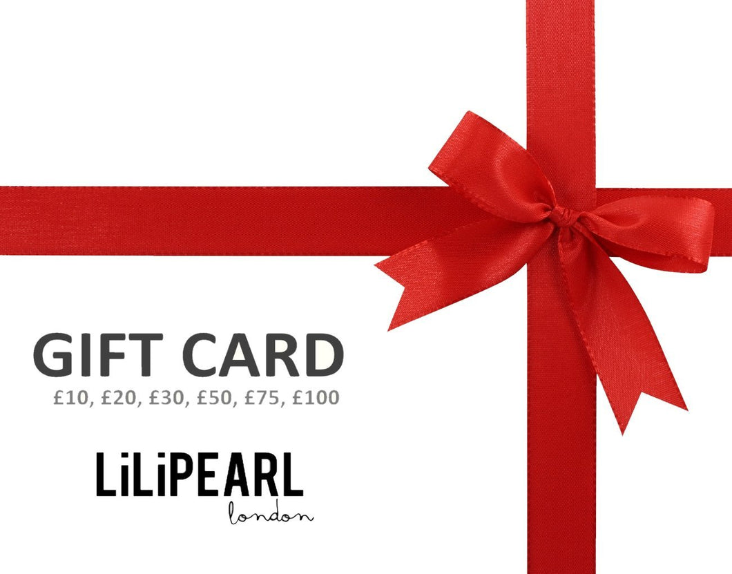 LILIPEARL gift card - LiLiPearl - LiLiPearlUK - Handmade luxury dragon satin chinese unique womens clothing lace mesh prom dress festival crop top sequin bodychain bralet lili pearl