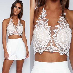 Riley white LILIPEARL handmade lace bralet - LiLiPearl - LiLiPearlUK - Handmade luxury dragon satin chinese unique womens clothing lace mesh prom dress festival crop top sequin bodychain bralet lili pearl