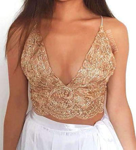 Bali Bronze LILIPEARL handmade lace triangle bralet  - LiLiPearl - LiLiPearlUK - Handmade luxury dragon satin chinese unique womens clothing lace mesh prom dress festival crop top sequin bodychain dolls kill depop shopify silkfred chelsea pearl li bralet lili pearl