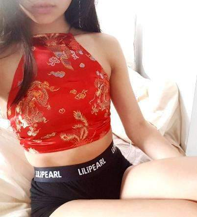 Red Dragon LILIPEARL handmade halterneck  - LiLiPearl - LiLiPearlUK - Handmade luxury dragon satin chinese unique womens clothing lace mesh prom dress festival crop top sequin bodychain dolls kill depop shopify silkfred chelsea pearl li bralet lili pearl