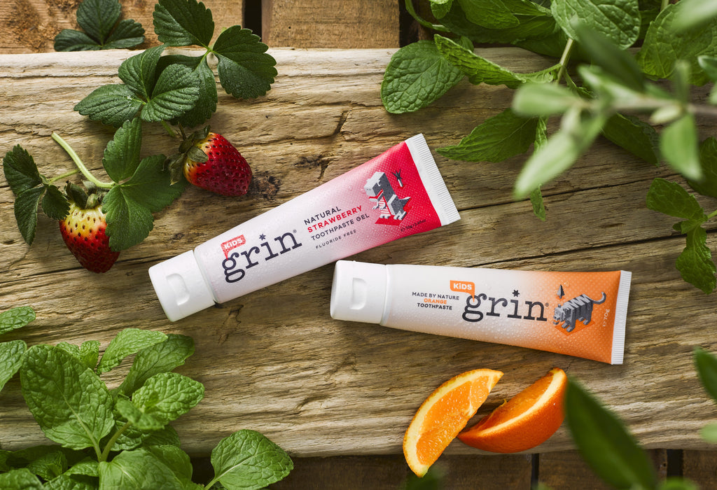 Grin Natural Kids Toothpaste Fluoride Free