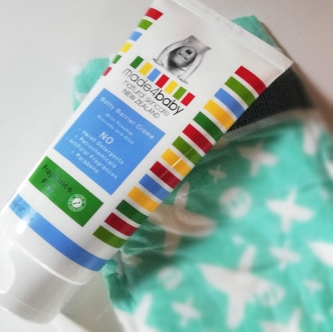 made4baby botty barrier creme good for your baby's skin