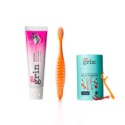 1-2-3 Grin! Kids Oral Care Pack - Grin Natural Products