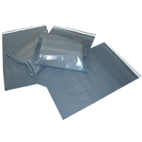 Grey Polythene Resealable