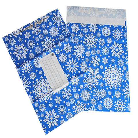 Polka Dot And Snowflake Printed