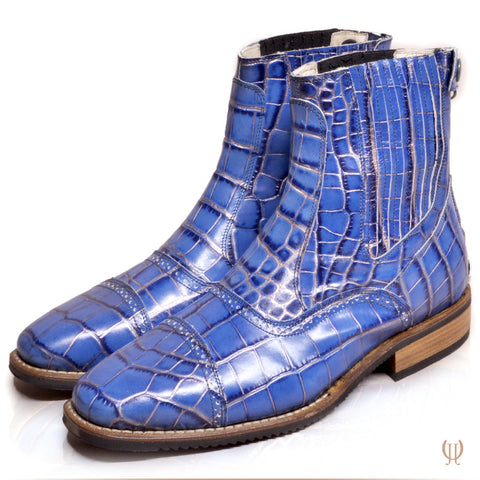 DonaDeo Yard Boots Cro Blue