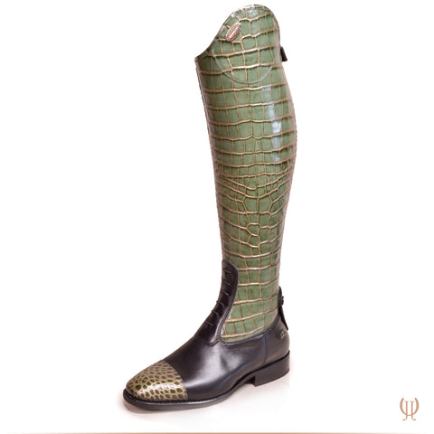 De Niro Salento Cro Green Leg and Foot