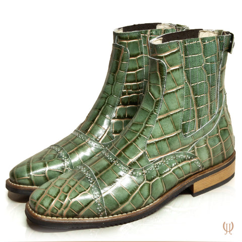 DonaDeo Yard Boots Cro Green