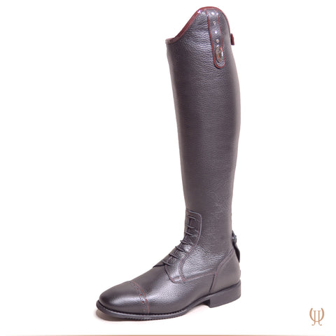 DeNiro Julietta Black Patent Burgundy