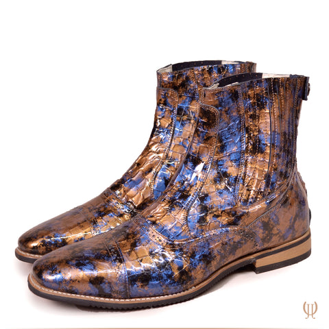 Copy of DonaDeo Yard Boots Lucidi Sfumato Blue