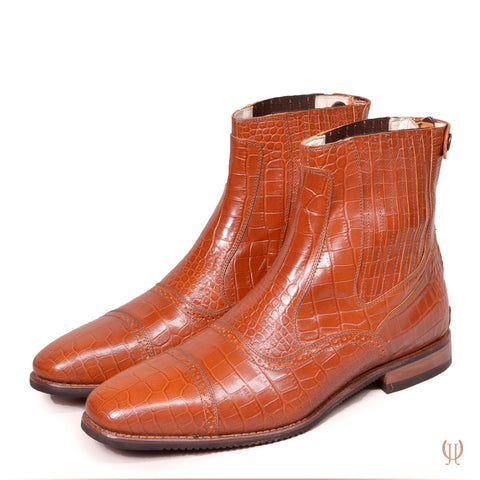 DonaDeo Yard Boots Malibu Brandy