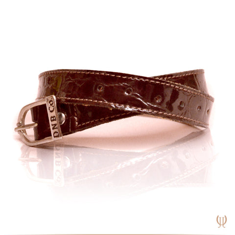 Lucido Brown Spur Straps