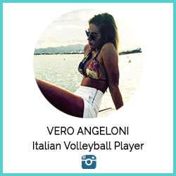 Vero Angeloni Italian Volleyball Player