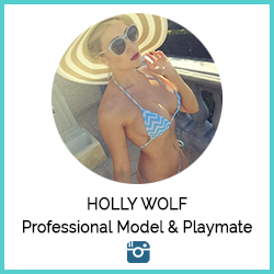 Holly Wolf Professional Model & Playmate