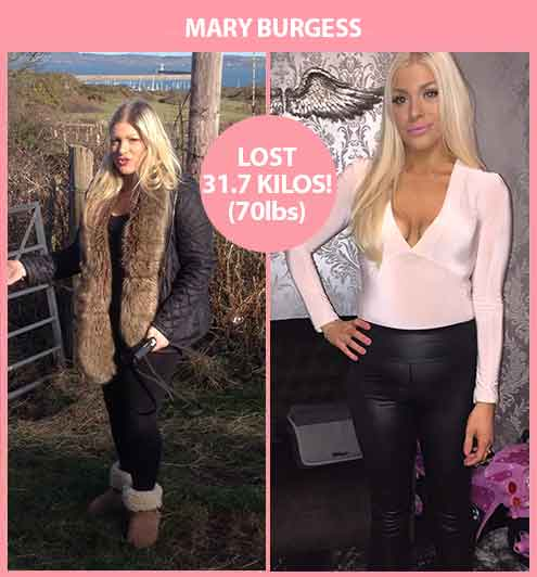 Mary Burgess Amazing Weight Loss