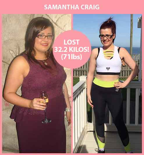 Samantha Craig Amazing Weight Loss
