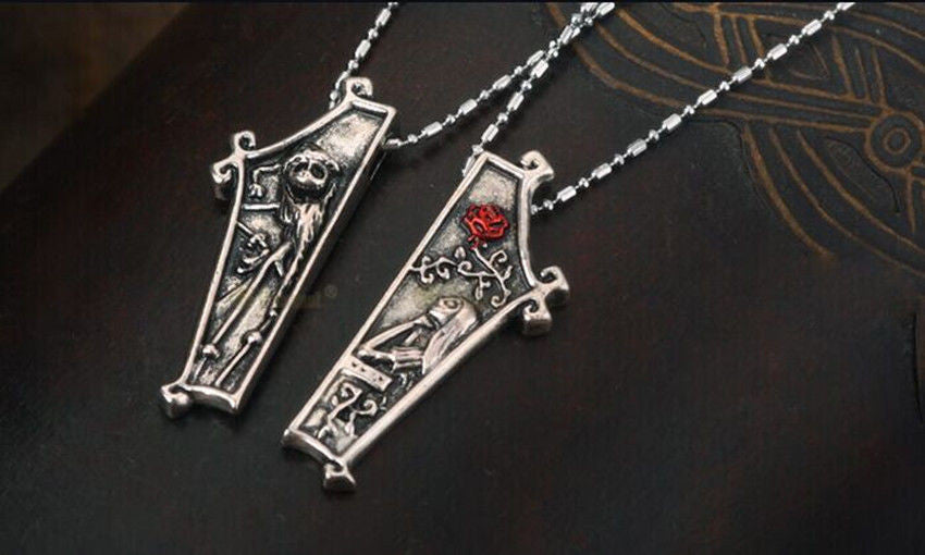 The Nightmare Before Christmas Jack Lisa Couple Pendant Necklace ...