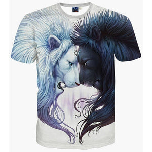 Darkness & Light T-Shirt - The Dragon Shop - Geek Culture