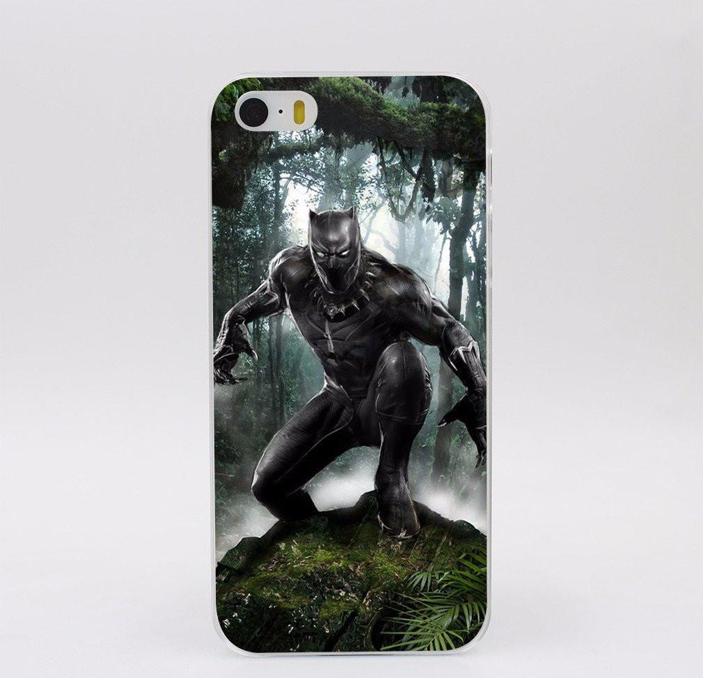 Black Panther Artistic iPhone Case - The Dragon Shop - Geek Culture