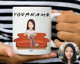 Friends Personalised Mug - The Dragon Shop - Geek Culture