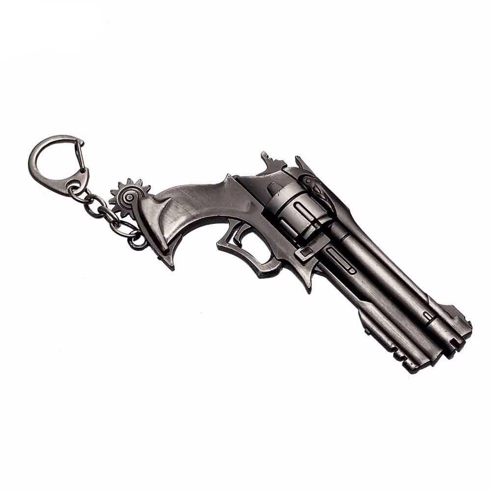 Overwatch McCree Revolver Keychain - The Dragon Shop - Geek Fashion