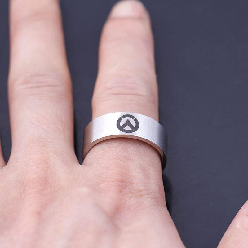 Overwatch Steel Ring - The Dragon Shop - Geek Culture