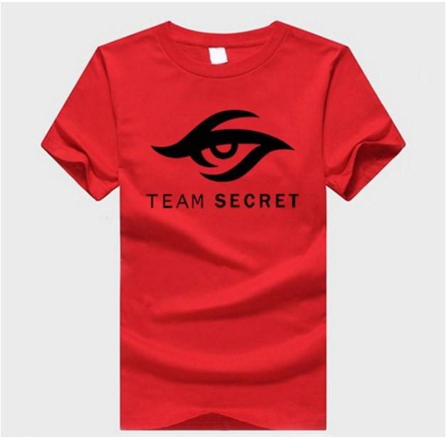 DOTA 2 Team Secret T-Shirt - The Dragon Shop - Geek Culture
