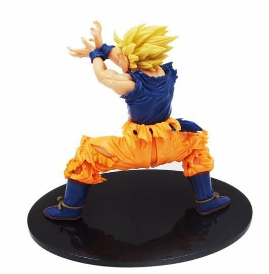Dragon Ball Z Goku Kamehameha Figure (PVC) - The Dragon Shop - Geek Culture
