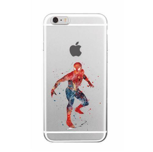 Super Heroes Watercolor Phone Case