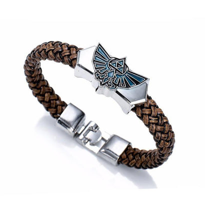 Legend of Zelda Triforce Bracelet - The Dragon Shop - Geek Culture