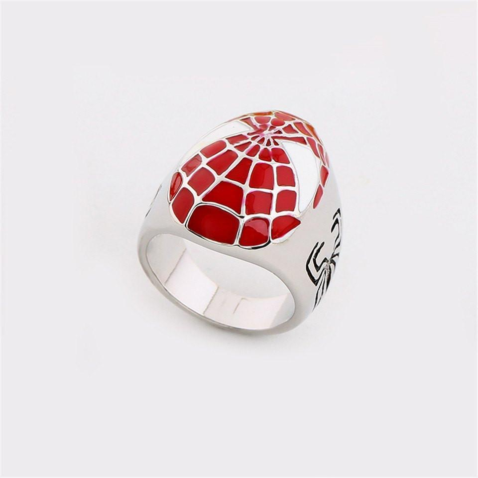 Spider-Man Mask Metal Ring - The Dragon Shop - Geek Culture