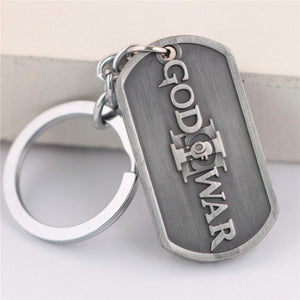 God of War Steel Keychain - The Dragon Shop - Geek Culture