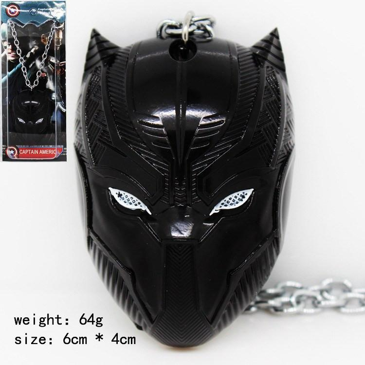 Black Panther Steel Necklace - The Dragon Shop - Geek Culture