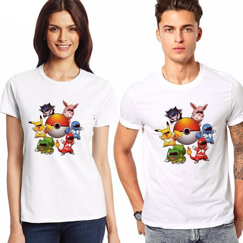Pokemon Power Rangers T-Shirt - Muse Raven - Dream Out Loud