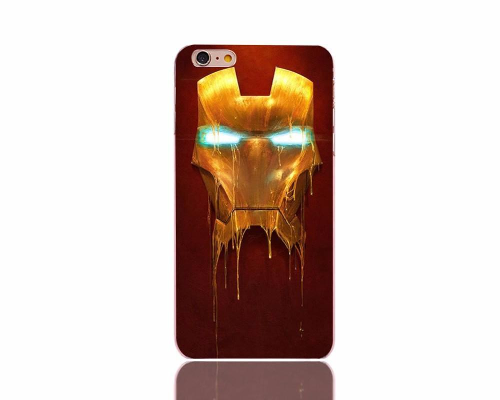 Iron-Man Water Color iPhone Case - The Dragon Shop - Geek Culture