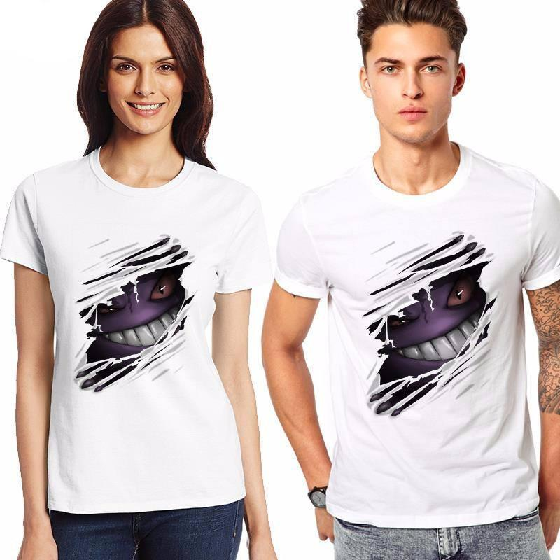 Pokemon Gengar T-Shirt - The Dragon Shop - Geek Culture
