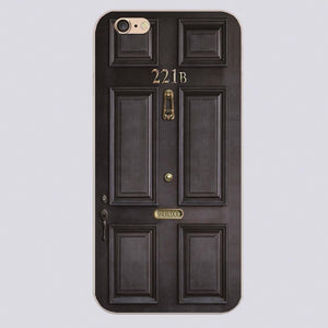 Sherlock 221B iPhone Case - The Dragon Shop - Geek Culture