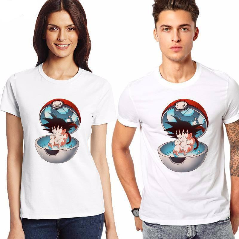Pokemon Goku-Ball T-Shirt - The Dragon Shop - Geek Culture
