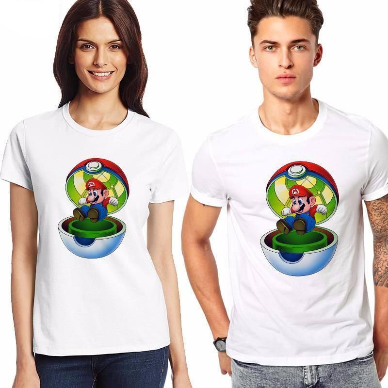 Pokemon Mario-Ball T-Shirt - Muse Raven - Dream Out Loud