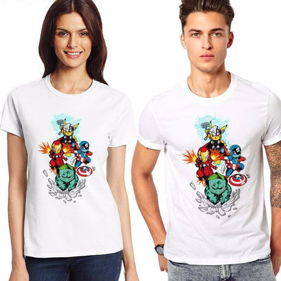 Pokemon Super Heroes T-Shirt - The Dragon Shop - Geek Culture