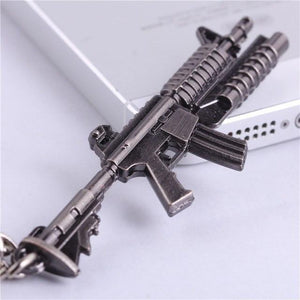 Counter-Strike Steel Keychain - The Dragon Shop - Geek Culture