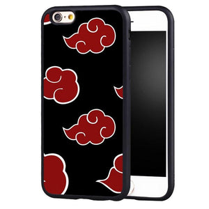 Naruto Akatsuki Artistic iPhone Case - The Dragon Shop - Geek Culture