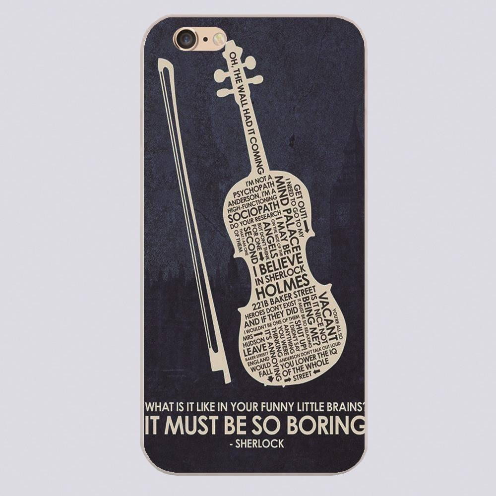 Sherlock Artistic iPhone Case - The Dragon Shop - Geek Culture