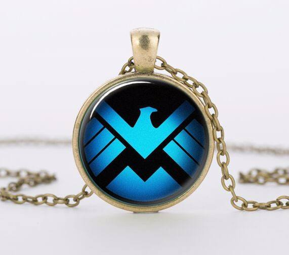 Agents of S.H.I.E.L.D. Necklace - The Dragon Shop - Geek Culture