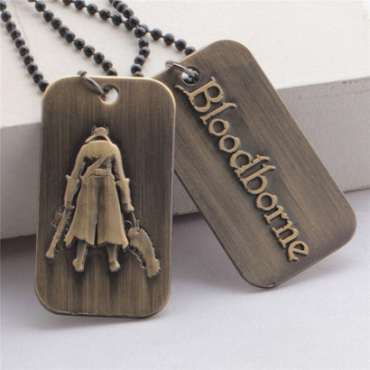 Bloodborne Hunter Necklace - The Dragon Shop - Geek Culture