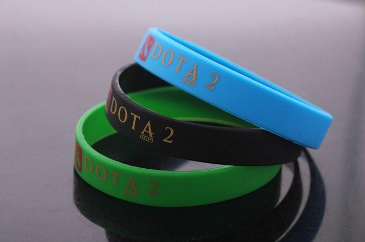 DOTA 2 Silicon Bracelet - The Dragon Shop - Geek Culture