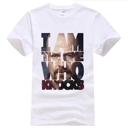 Breaking Bad I Am The One Who Knocks T-Shirt - The Dragon Shop